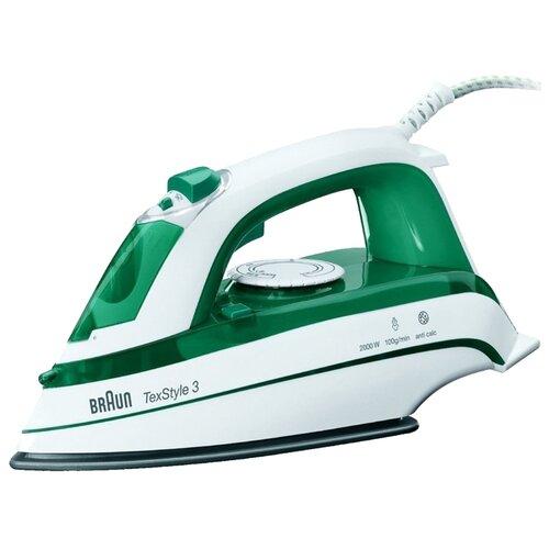 Утюг Braun TexStyle TS345 зеленый/белый
