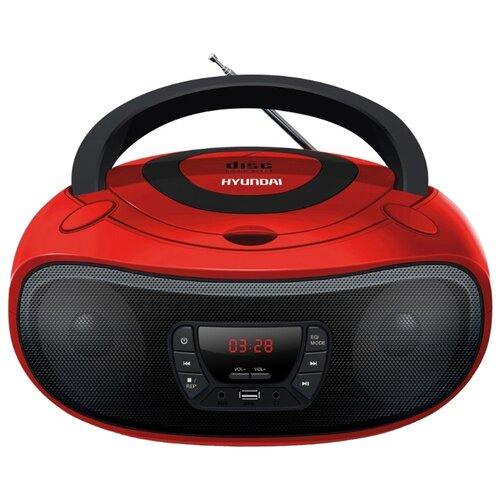 Магнитола Hyundai H-PCD240/H-PCD260/H-PCD280/H-PCD300 красный/черный