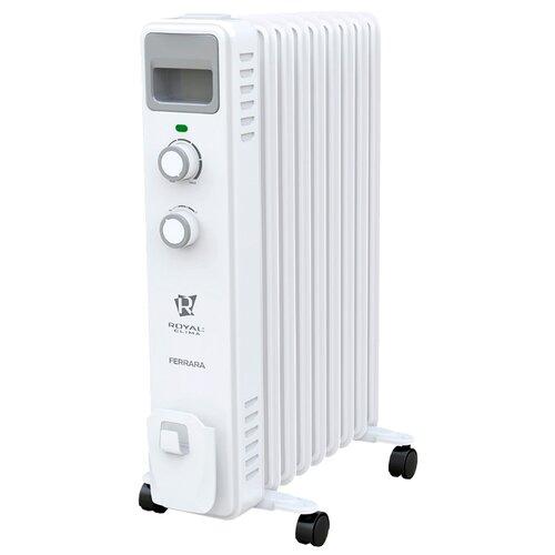 Масляный радиатор Royal Clima ROR-F9-2000M Ferrara белый
