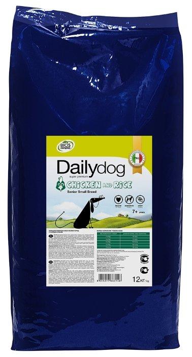 Корм для собак Dailydog курица с рисом 12 кг (для мелких пород)