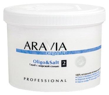 Aravia Organic Cкраб с морской солью Oligo&salt