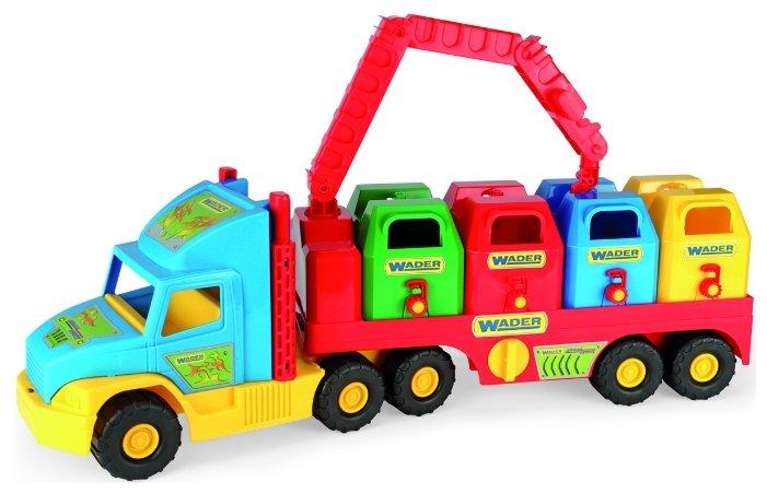 Игрушка Wader Super Truck Мусоровоз 36530