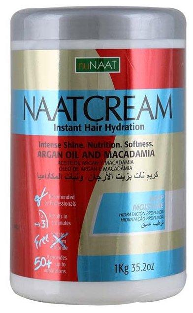 NuNAAT Naat Cream Маска для волос на основе масла арганы и макадамии