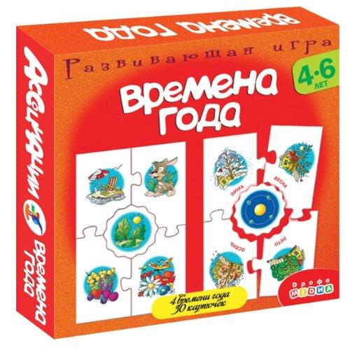 Купить Настольная игра Дрофа-Медиа Ассоциации. Времена года, Настольные игры