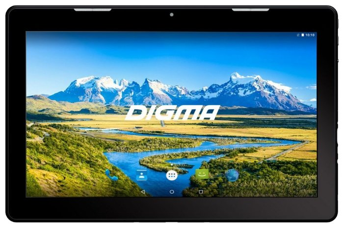 Планшет DIGMA CITI 3000 4G, 3Гб, 64GB, 3G, 4G, Android 8.1 черный [cs3001ml]