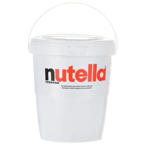 Nutella Паста ореховая с добавлением какао в ведерке, 3000 гШоколадная и ореховая паста<br>