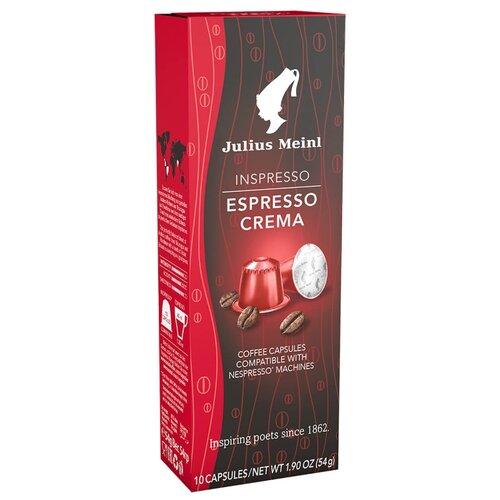 Кофе в капсулах Julius Meinl Espresso Crema (10 капс.) meinl caj7nt bk bag
