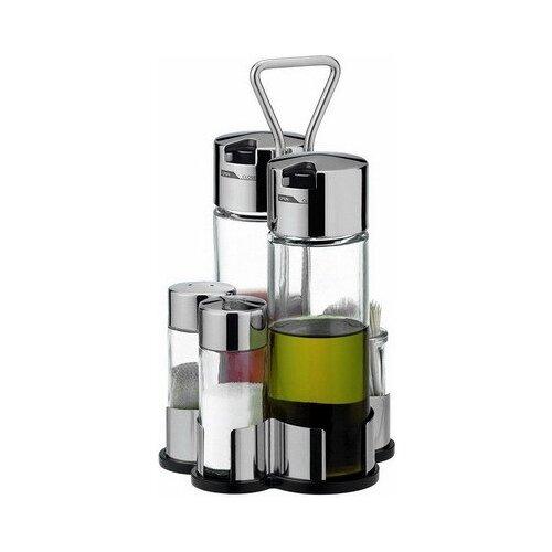 Tescoma Набор для специй и зубочисток Club прозрачный/стальной набор для специй tescoma club 2 предмета стекло нержавеющая сталь 650314