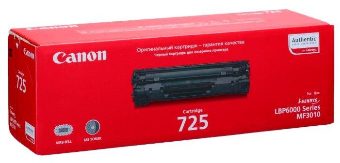 Картридж Canon Cartridge 725 / 3484B002
