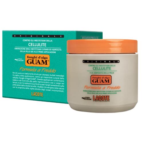 Guam маска Fanghi D'alga Formula a Freddo антицеллюлитная с охлаждающим эффектом 500 г guam цены