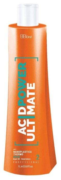 BB One Нанопластика Acid Power Ultimate Thermo Mask Шаг 2 для волос