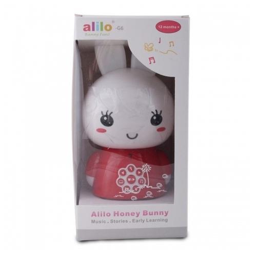 af2984cbf894 Купить Интерактивная развивающая игрушка Alilo Медовый зайка G6 по ...