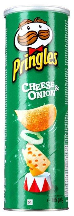 Чипсы Pringles картофельные Cheese & onion