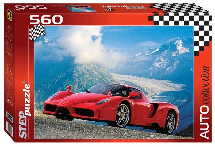 Пазл Step puzzle Auto Collection Феррари (78079), 560 дет.