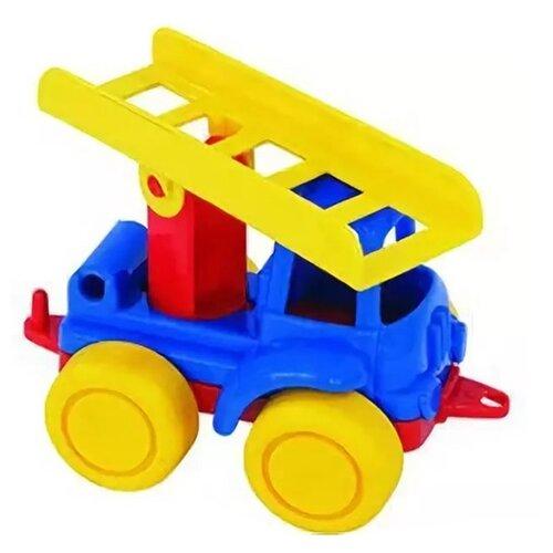 Пожарный автомобиль Нордпласт Нордик (105/1) 11.5 см желтый/красный/синийМашинки и техника<br>