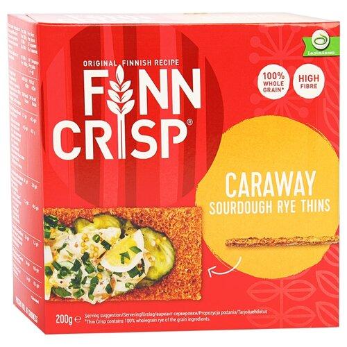 Сухарики ржаные Finn Crisp с тмином 200 г жакет finn flare finn flare mp002xw18ugv