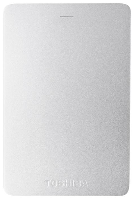 "Внешний жесткий диск 2.5"" USB3.0 500Gb Toshiba Canvio Basics HDTH305ES3AA серебристый"