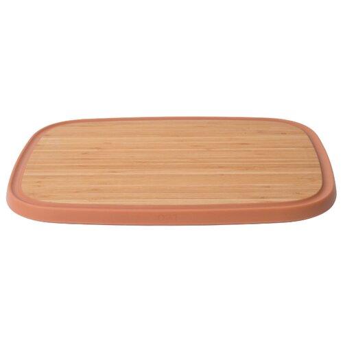 Разделочная доска BergHOFF Leo 37х27х1,5 см бамбук разделочная доска bekker bk 9702 25 см бамбук