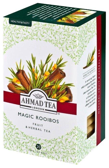Стоит ли покупать Чай травяной Ahmad tea Healthy&Tasty Magic rooibos в пакетиках, 20 шт. - 13 отзывов на Яндекс.Маркете (бывший Беру)