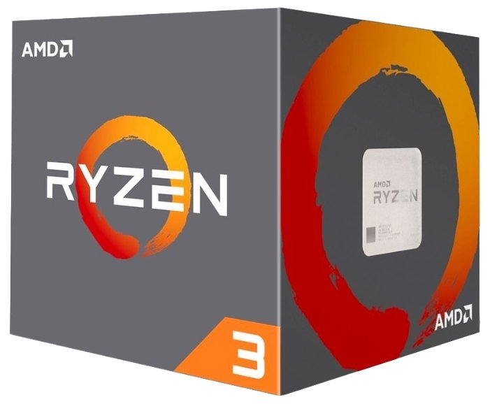 Процессор AMD Ryzen 3 1200 Summit Ridge (AM4, L3 8192Kb)