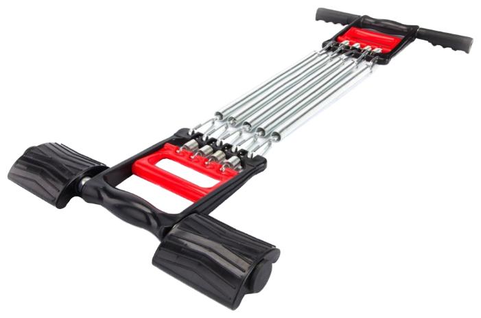 Купить Эспандер универсальный BRADEX Стальные мышцы (SF 0073) 66 х 11 см серебристый/черный по низкой цене с доставкой из Яндекс.Маркета (бывший Беру)