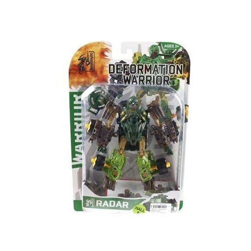 Купить Трансформер Shantou Gepai Deformation Warrior 5898-B21/22/23/24/25 коричнево-зеленый, Роботы и трансформеры
