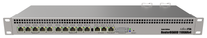 Маршрутизатор MikroTik RouterBOARD RB1100AHx4 Dude Edition
