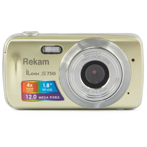 Фото - Фотоаппарат Rekam iLook S750i золотой фотоаппарат