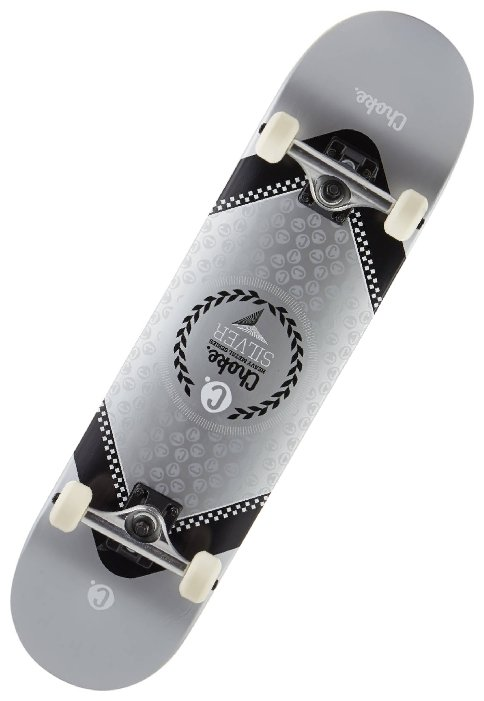 Скейтборд Choke Heavy Metal Silver