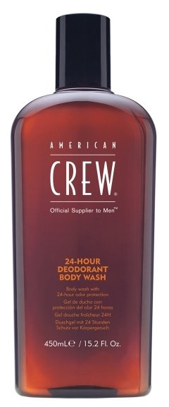 Гель для душа American Crew 24-Hour deodorant body wash