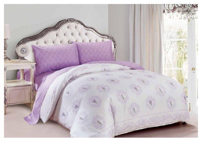 Постельное белье 1.5-спальное Jardin 14Р-P-Lavender поплин