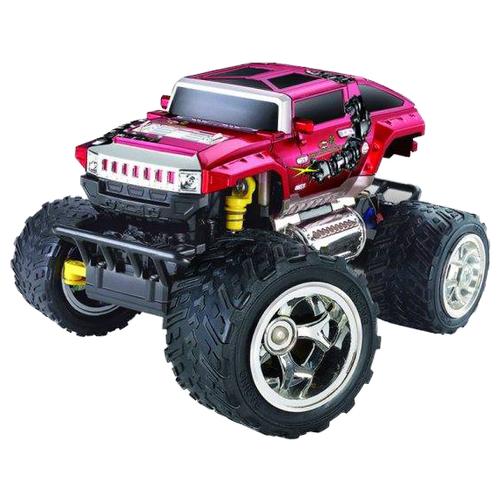 Купить Монстр-трак Пламенный мотор ПМ 030 (870262) 1:28 18 см красный, Радиоуправляемые игрушки