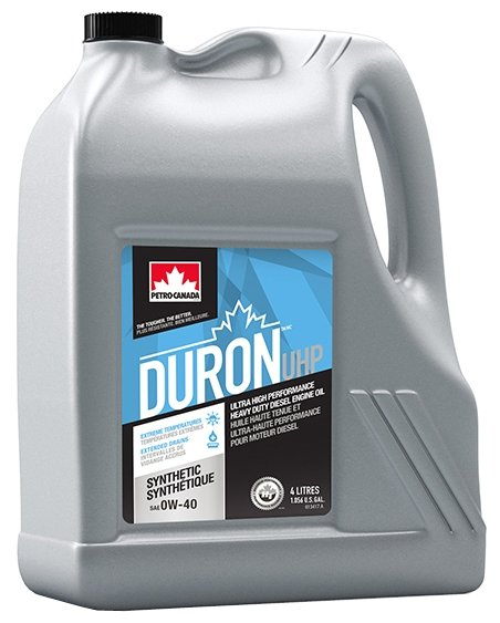 Моторное масло Petro-Canada Duron UHP 0W-40 4 л