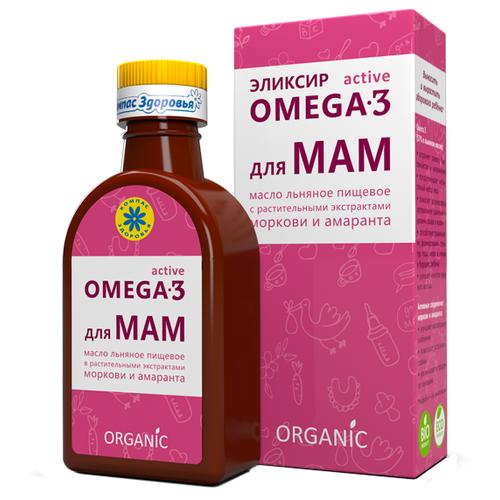Компас Здоровья Масло льняное Для мам 0.2 л компас здоровья масло льняное амарантовое 0 2 л