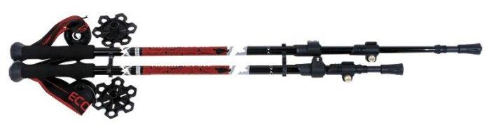 Палка для треккинга 2 шт. ECOS Телескопические Алюминиевые AQD-C024B