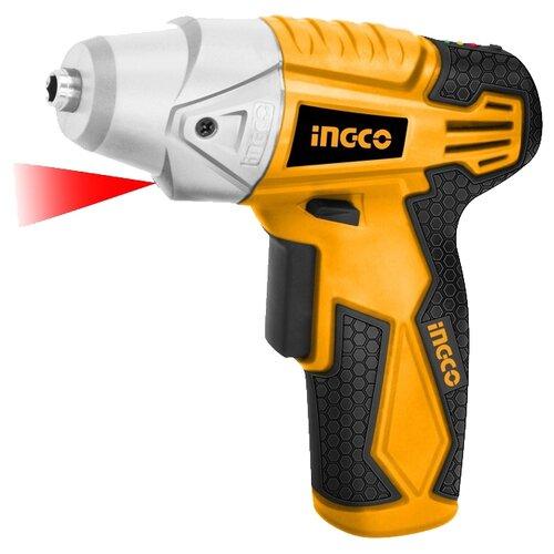 Аккумуляторная отвертка INGCO CS1836