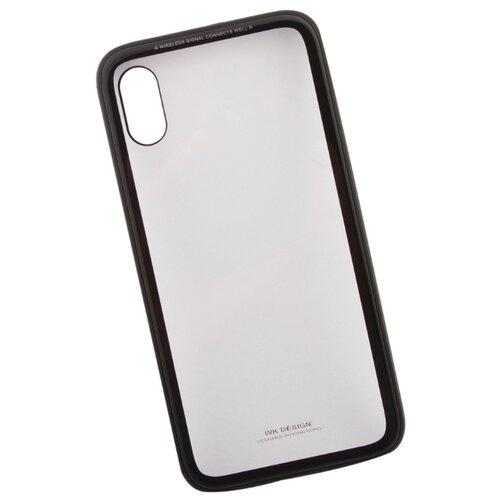 Купить Чехол WK Kingkong Series Glass Case для Apple iPhone X черный