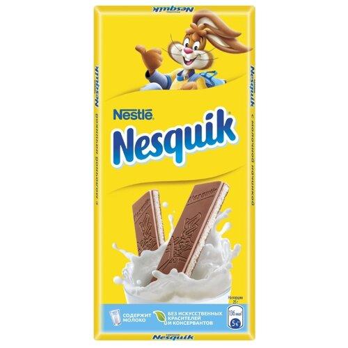Шоколад Nesquik молочный с молочной начинкой, 100 г