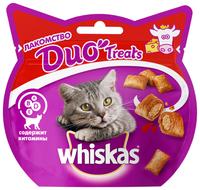 Лакомство для кошек Whiskas Duo Treats c говядиной и сыром 40 г