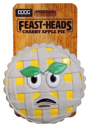Игрушка для собак DOOG Feast-Heads Crabby Apple Pie