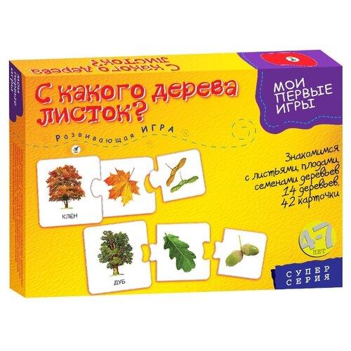 Купить Настольная игра Дрофа-Медиа МПИ. С какого дерева листок, Настольные игры
