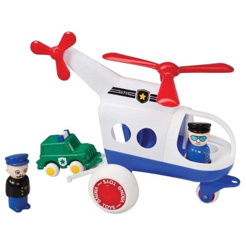 Купить Набор техники Viking Toys Jumbo (1273) 30 см белый/синий/красный, Машинки и техника