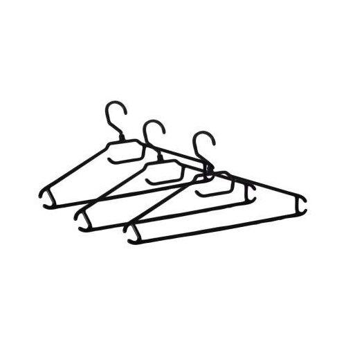 Вешалка BranQ Набор для одежды BQ1884 черныйВешалки-плечики<br>