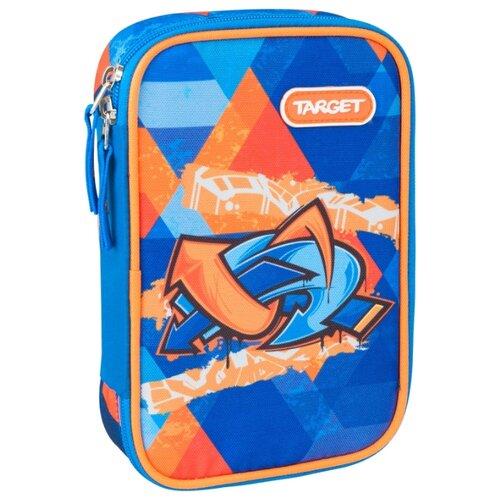 Target Пенал Murales (21362) синий/оранжевыйПеналы<br>