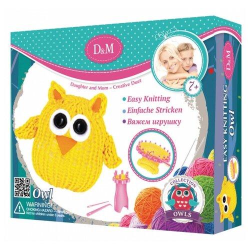 Купить D&M Вяжем игрушку Совушка (62012), Наборы для вязания