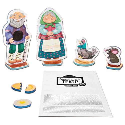 Десятое королевство Театр настольный кукольный Курочка-Ряба (01340)