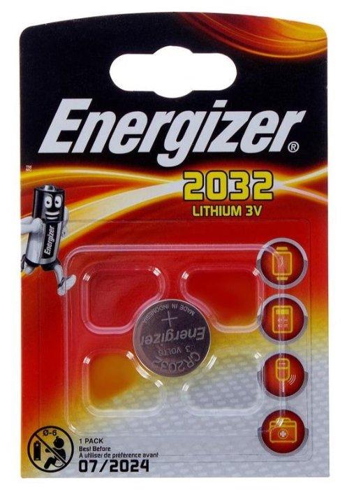 Батарейка CR2032 Energizer CR2032 BL1