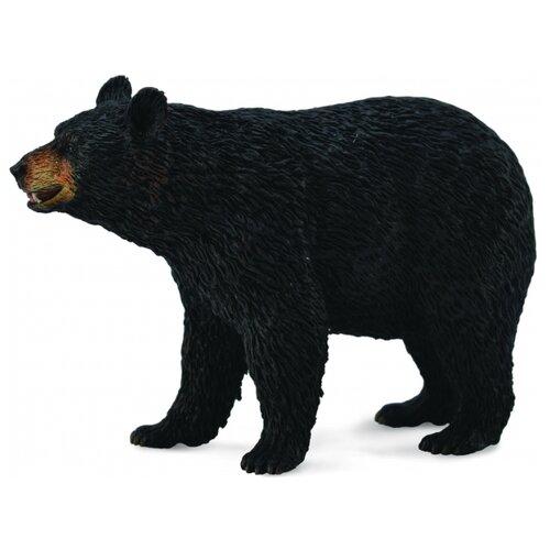 Фото - Фигурка Collecta Американский черный медведь 88698 collecta карликовый бегемот черный