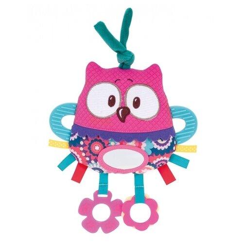Купить Подвесная игрушка Canpol Babies Лесные Друзья Сова (68/042) розовый, Подвески