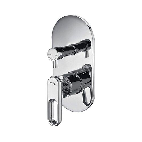Смеситель для ванны с подключением душа WasserKRAFT Kammel 1841 однорычажный встраиваемый смеситель для ванны с подключением душа wasserkraft elbe 7441 однорычажный встраиваемый